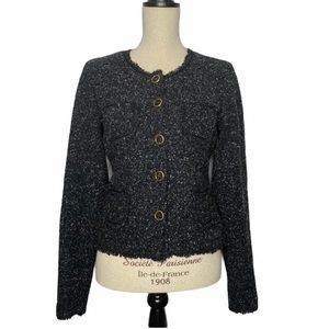 Bailey 44 Short Tweed Boucle Blazer